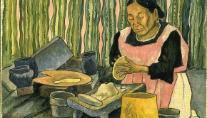 Diego-Rivera-Woman-Making-Tortillas