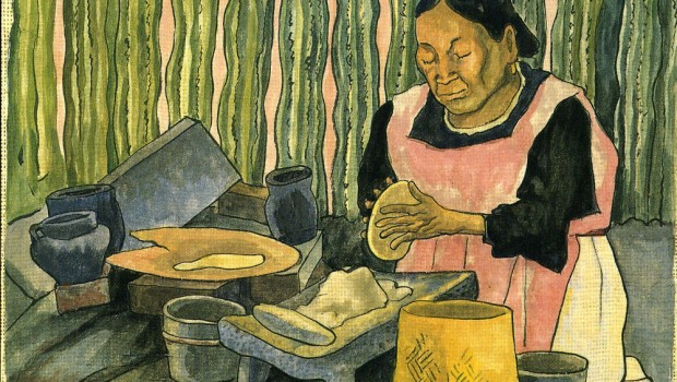 Diego-Rivera-Woman-Making-Tortillas