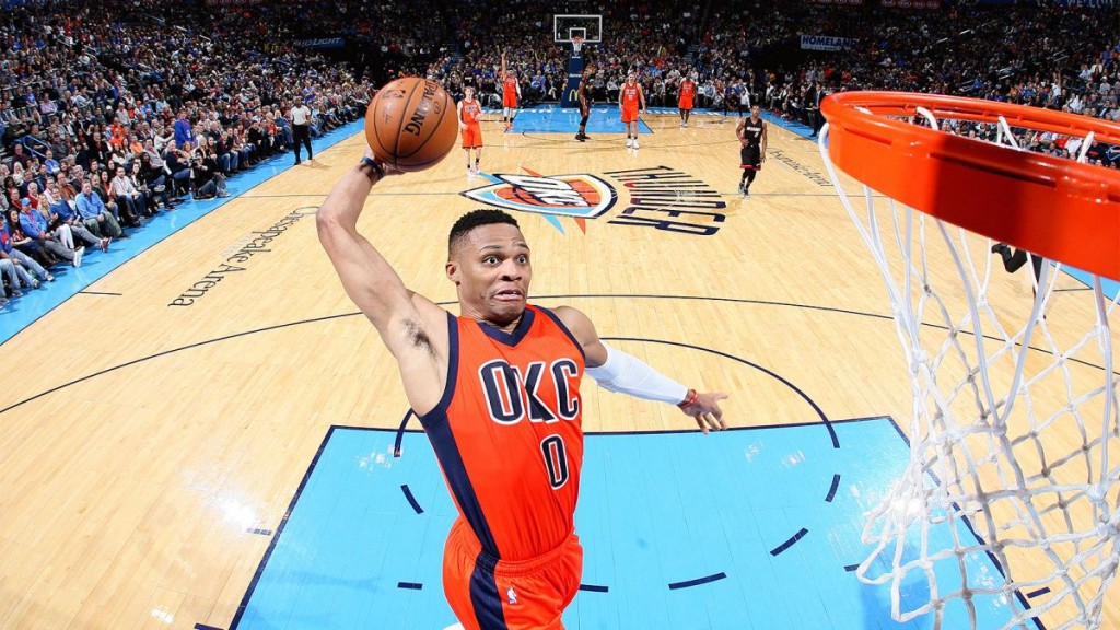 Westbrook-dunk