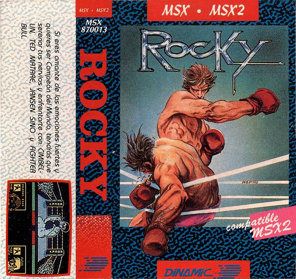 Rocky (Normal) Carátula
