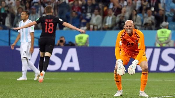 Argentina vs Croacia - Copa del Mundo - Rusia 2018