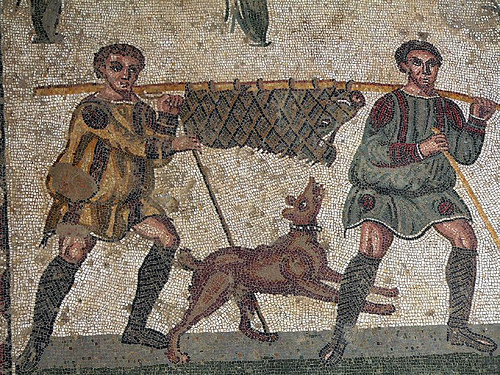 roman-mosaic-dog